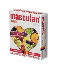 Презервативы Masculan Ultra Tutti-Frutti (3шт)