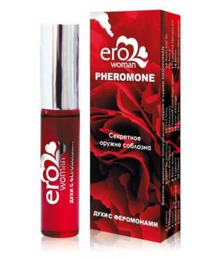 Женские духи с феромонами «Erowoman №12». Аромат «Pleasures» (10 мл)