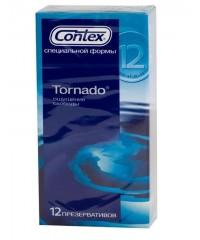 Презервативы «CONTEX Tornado» (12 шт)