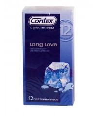 Презервативы продлевающие половой акт «CONTEX Long Love» (12 шт)