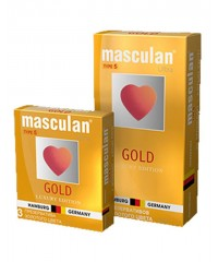 Презервативы «Masculan - Gold Luxury Edition»