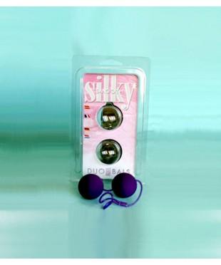 Вагинальные шарики фиолетового цвета