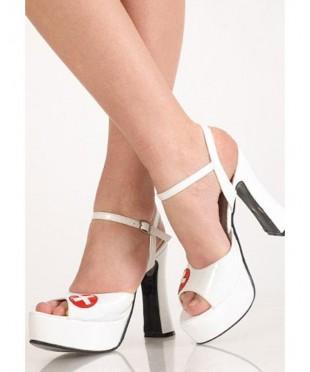 Белые туфли «Медсестра»