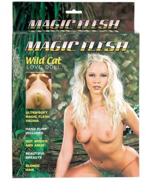 Эротическая кукла с тремя тоннелями любви «MAGIC FLESH WILD CAT LOVE DOLL»