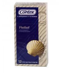 Презервативы «CONTEX Relief» (12 шт)