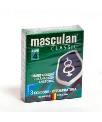 Презервативы Masculan Classic Anatomic (3шт)