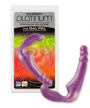 Безремневой силиконовый страпон «THE GAL PAL»