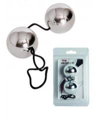 Серебрянные вагинальные шарики «BI-BALLS» (3 см)