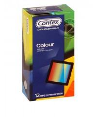 Презервативы «CONTEX Colour» (12 шт)